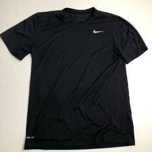 The Nike Tee Black Mens Size Medium Dri Fit T-shirt